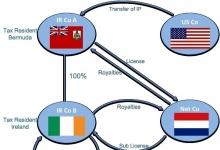 跨国公司的避税天堂