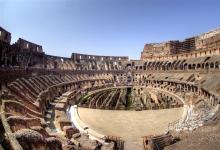 回到罗马竞兽场