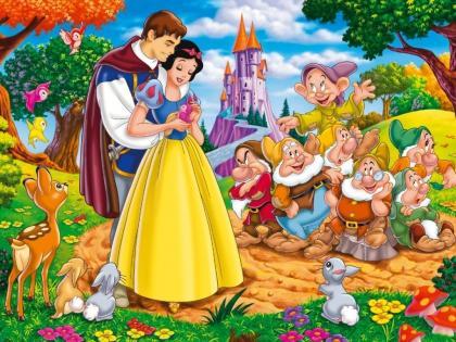在《格林童话》中,漂亮的公主与英俊的王子是经典搭配。.jpg
