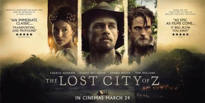 2017年,根据福赛特在亚马孙探险经历改编的电影《迷失Z城》上映。.jpg