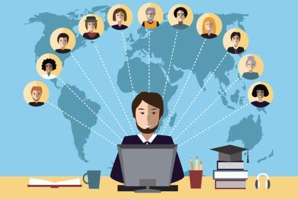 通过慕课的网站,人们可以接触到来自世界各地的顶尖学者.jpg