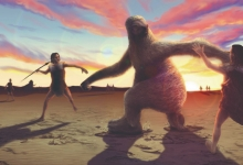人类的出现造成了巨型哺乳动物的灭绝?