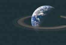 假如地球有土星环会怎么样?